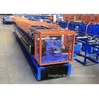 China Color Steel Sheet Rain Water Downspout Roll Forming Machine Chain / Gear Box Driven System on sale