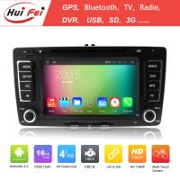 China For VW Universal In-dash Car Dvd For Skoda Octavia Quad-core RK3188 Nand 16GB Processor on sale