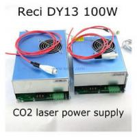 Best DY13 Reci CO2 laser power supply S4 100W tube laser engraver cutting machine wholesale