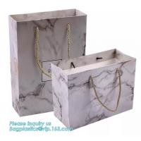 Best Paper Fashion Luxury Paper Packaging Bag With Handle Bags Carrier wholesale