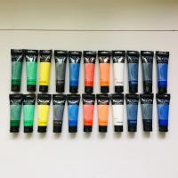 Cheap Artist's Acrylic painting Color Value Series 100ml & 75ml Phoenix for sale