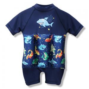 China Sun Protection One - Piece Kids Swim Vest With Removable Buoyancy Float on sale
