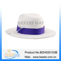 China Promotional women cowboy hat with adjustable cotton ribbon on sale