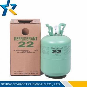 China R22 CHCLF2 formula Chlorodifluoromethane HCFC R22 Refrigerant Replacement for intermediate on sale