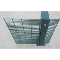 Best PVC Coating 358 Wire Mesh Fence High Security Wire Prison Fence 2-3m Length wholesale