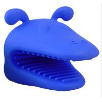 Best Special Design Hot Sale Customized Dog Head Shaped Silicone Oven Mitt Pot Holder wholesale