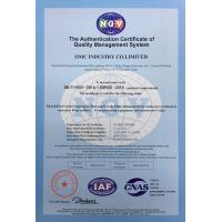 OMC Industry Co.Limited Certifications
