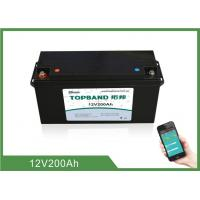 Best High Rate Discharge 12V 200Ah Bluetooth Lithium Battery Lifepo4 Cells wholesale
