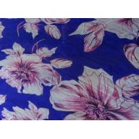 China Lean Textile Fashion Dress Fabric Chiffon, Hot Sale Patterned Chiffon Fabric on sale