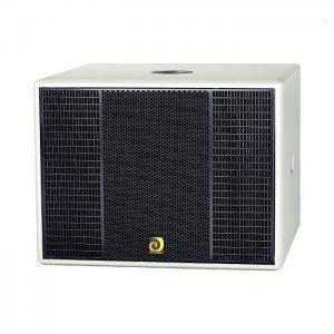 Best single 15inch subwoofer speaker DE Acoustics MR15B wholesale
