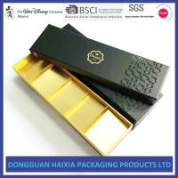China Handmade Rigid Cardboard Chocolate Box , Cardboard Sweet Boxes UV Coating on sale