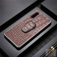 Best Genuine Leather Cell Phone Protective Covers Embossed Crocodile Skin Pattern wholesale