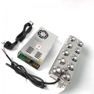 Best 5000ML 350W Ultrasonic Nebulizer 10 Headed Ultrasonic Mist Maker Fogger Humidifier wholesale