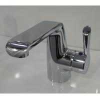 China Modern Deck Mounted Basin Mixer Faucet / Single Hole Chrome Basin Mixer Taps HN-3A36 on sale