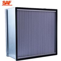 Best Cleanroom Deap Pleated Hepa Filter , 0.3 Micron Hepa Filter With Paper Foil Separater wholesale