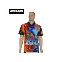 Best OEM Bulk New Design 100% Polyester Cheap Printed Sports Polo Shirts wholesale