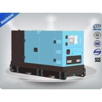China Four Cylinder Perkins Diesel Powered Generator 80Kw 100Kva , Self - Excited Control System on sale