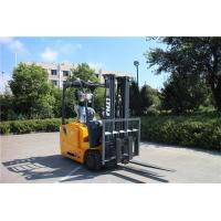 Best Three Wheel 1.6 Ton High Lift Forklift , Solid Tire Warehouse Lift Truck wholesale
