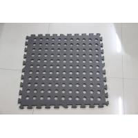 China Black Tile Outdoor Jigsaw Mat 60*60cm camping playing kids adults garden mat safety on sale