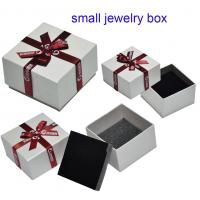 Cheap Handmade Paper Jewelry Ring Box, Small Jewellery Box for sale