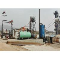 China Outside Bitumen Drum Melter Thermal Oil Boiler Heating Customized Color on sale