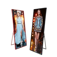 China WIFI 4G P1.875 Advertising HD Digital Display Exhibition Led Poster on sale