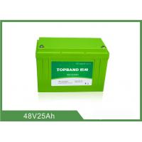 Best Lifepo4 Motorcycle Battery 48V 25Ah , Lithium Deep Cycle Battery TB4825F-M120A wholesale
