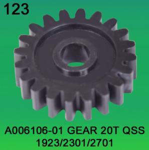 Best A006106-01 GEAR TEETH-20 FOR NORITSU QSS1923,2301,2701 minilab wholesale