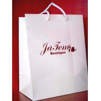 Best Blue glossy promotion paper bag wholesale