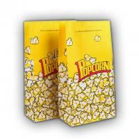 Best Food Grade Popcorn Recycled Paper Food Bags Eco Friendly Biodegradable Material wholesale