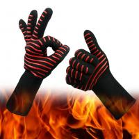 China Customized Silicone Heat Resistant Gloves  Oven Gloves on sale