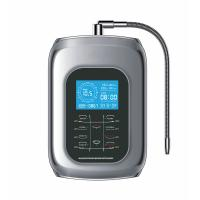 Best 2017 alkaline water ionizer with 9999liter inner filter with touch control with voice and 100% kangen water outlet wholesale