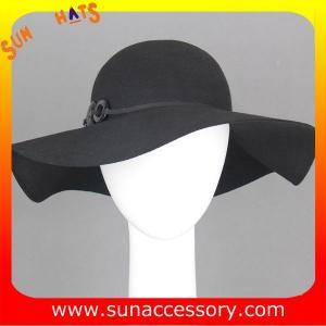 Best 8300303 Sun Accessory customized  winner  fashion 100% Australia wool felt floppy hats, women hats and caps wholesaling wholesale