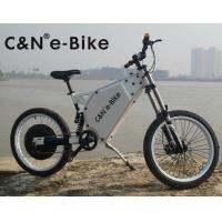 Adult Mid Drive Motor Electric Off Road Bike With 30Ah Lithium Ion Battery