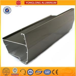 China Electrophoresis Coating Industrial Aluminium Profile , Customize Cylinder Aluminium Extrusion Profile on sale