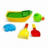 China Sand Beach Toys/Playing Boat with Accessory and EN71 and N6P Marks, Made of PP on sale