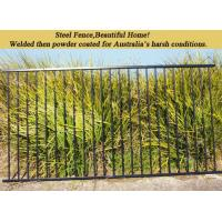 2.4m Decorative Steel Panel Fence Spear Pressed With Australia Style