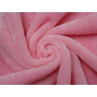 China 100% polyester knitted sherpa fleece long pile plush fabric on sale