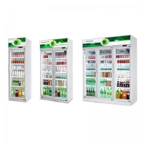 China Glass Door Commercial Display Freezer Drinks Fridge Chiller High Capacity Cabinet on sale