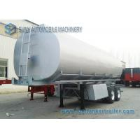 Mechanical / Pneumatic 35m3 Oil Tank Trailer Tandem Axle Trailer