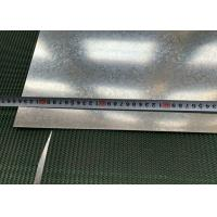Best 1250mm Width Hot Dipped Galvanized Steel Sheet Big Spangle For Outer Walls wholesale