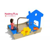 Best Sand Pit Plastic Playground Equipment Pe Board Eco - Friendly Hdpe Material wholesale