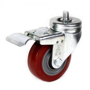 """Best 4"""" TPR swivel caster wheels wholesale"""