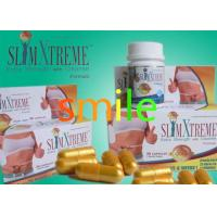 China Safety Slim X Treme Natural Slimming Capsule Gold Color 50mg * 30 / Box on sale