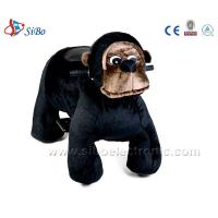 Best Coin Toys Stuffed Animals Walking Scooter Animals Plush Wheel Electric Animal Scooters wholesale