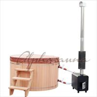 Buy cheap 1800*900MM Japanese soaking Hot Tub Bath Barrels , durable cedar sauna kit from wholesalers