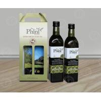 Take-away Corrugated Cardboard Wine Box with Handle in 1,2 and 3 or 4 bottles