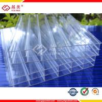 Best 6mm polycarbonate triple wall polycarbonate sheet good price clear double wall polycarbonate sheet wholesale