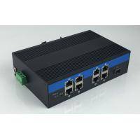 Best 8-Port 10/100/1000Base-Tx and 1-Port 1000Base-Fx Industrial Grade Fiber Switch with 8-Port POE wholesale