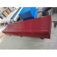 Best Color Coated Corrugated Metal Siding Panels / Corrugated Zinc Roofing Sheets wholesale